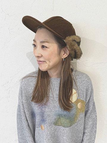 二子玉川の美容院Ameriのスタッフ KASUMI
